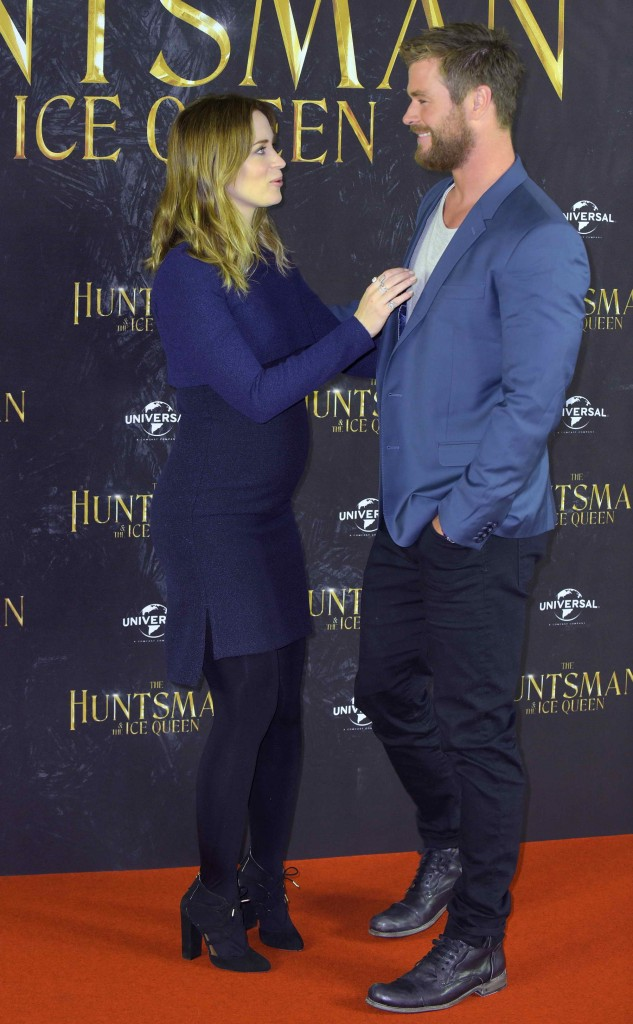 Emily Blunt at The Huntsman and The Ice Queen Photo Call in Hamburg-2