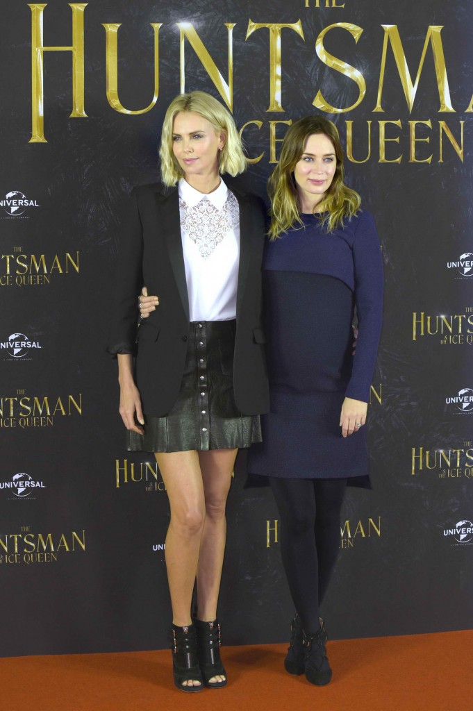Emily Blunt at The Huntsman and The Ice Queen Photo Call in Hamburg-3