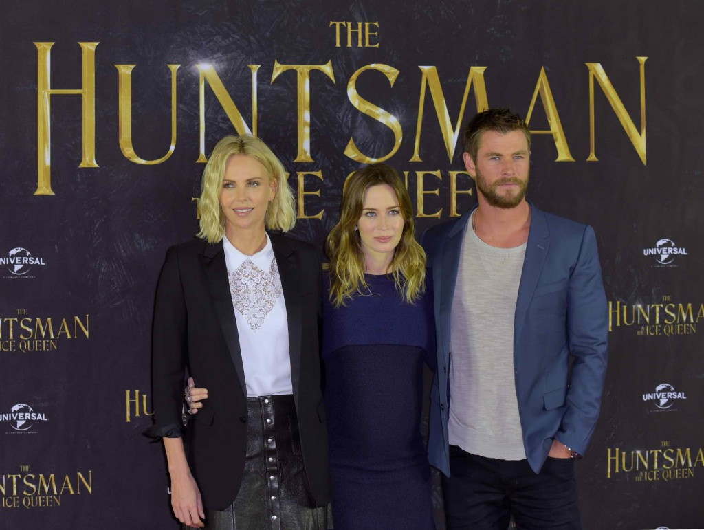 Emily Blunt at The Huntsman and The Ice Queen Photo Call in Hamburg-4