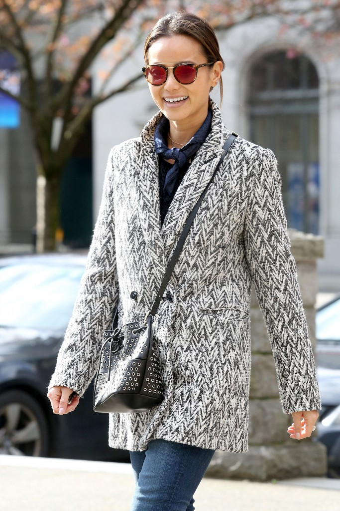 Jamie Chung Out in Vancouver-1