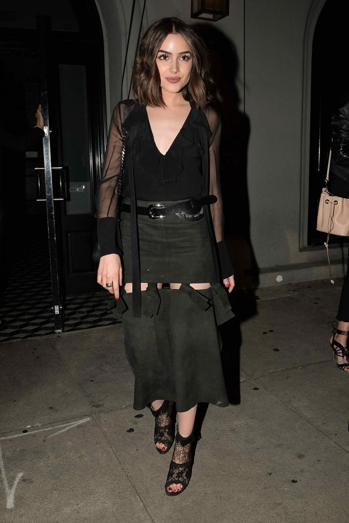 Olivia Culpo at Craigs Restaurant in Los Angeles-1