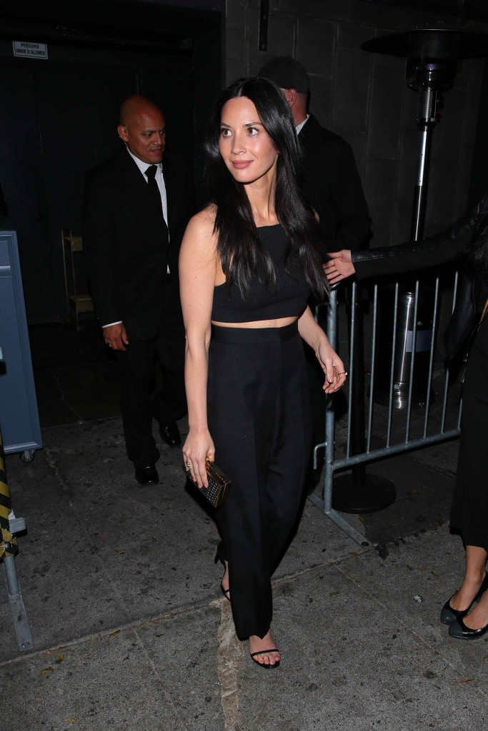 Olivia Munn Attends Reese Witherspoon's 40th Birthday at Warwick Nightclub in LA-1