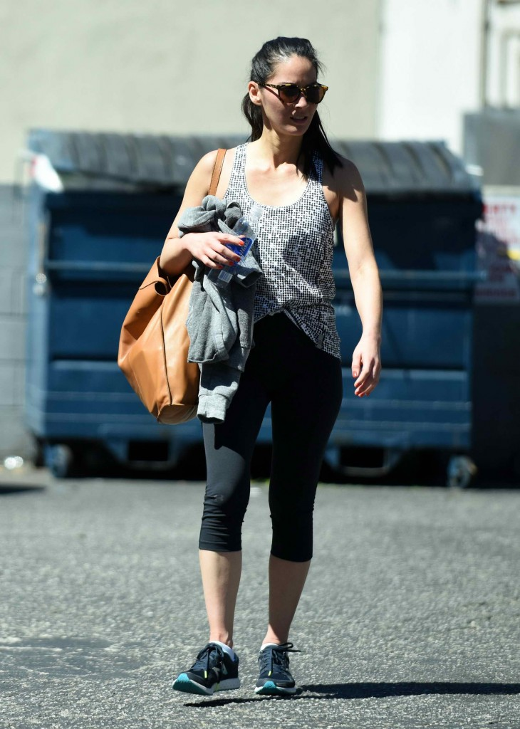 Olivia Munn Leaving 3rd Street Dance Studio in LA-1