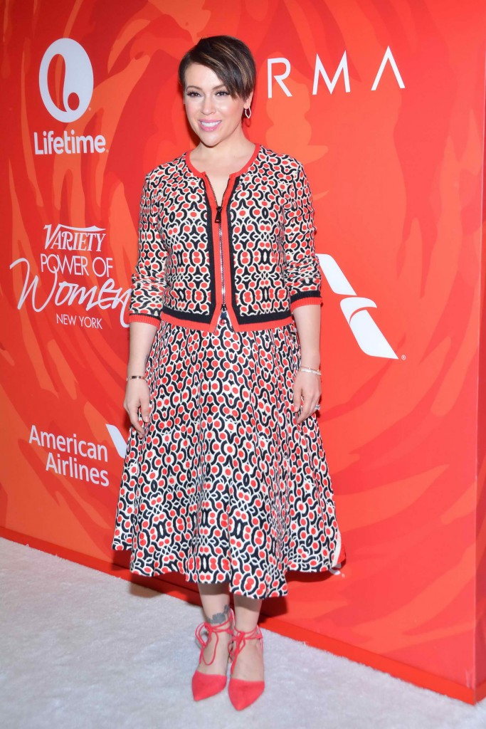 Alyssa Milano at the Variety's Power Of Women in New York-1