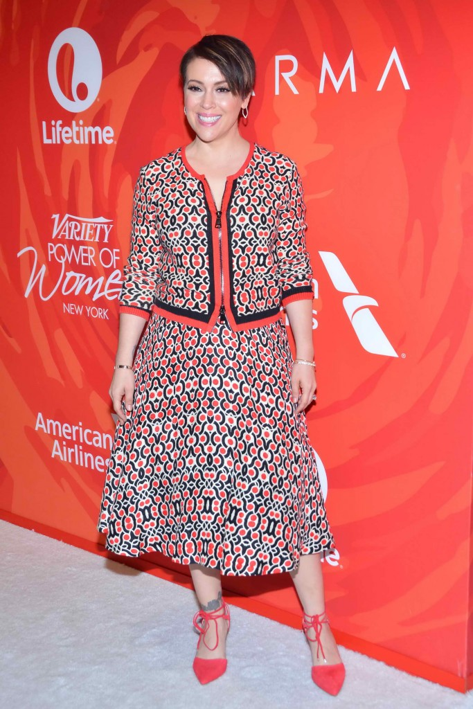 Alyssa Milano at the Variety's Power Of Women in New York-3