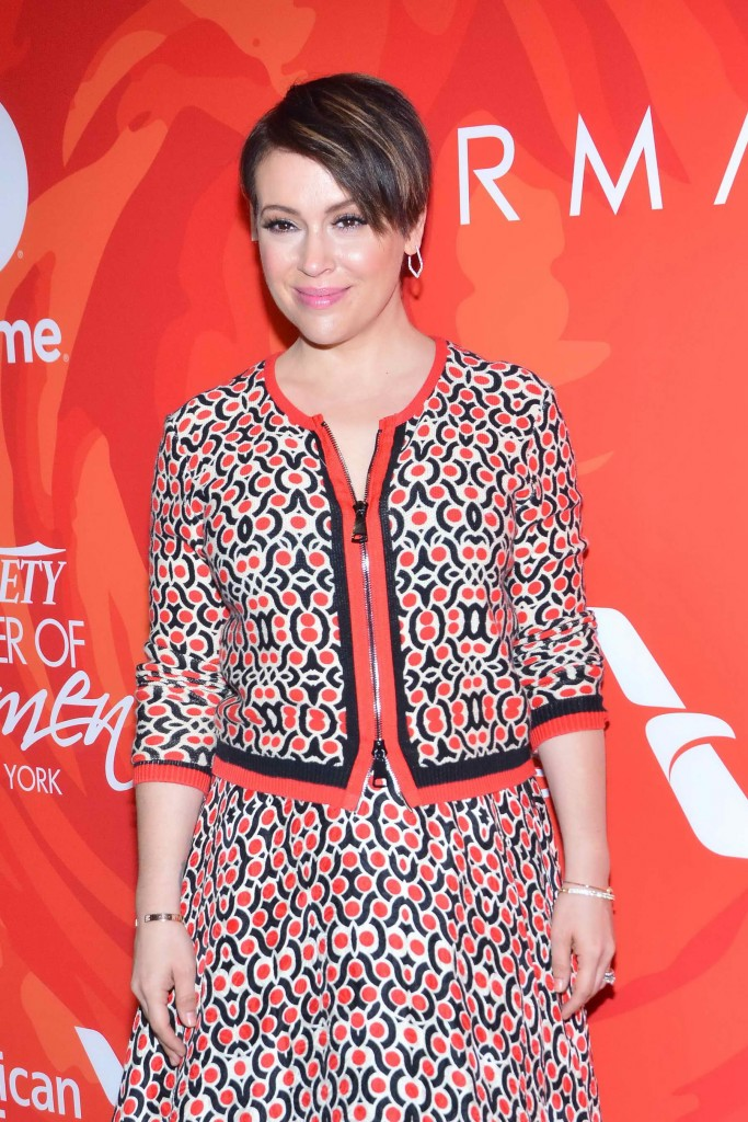 Alyssa Milano at the Variety's Power Of Women in New York-4