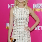 Anna Camp at Unbreakable Kimmy Schmidt Season 2 Premiere in New York