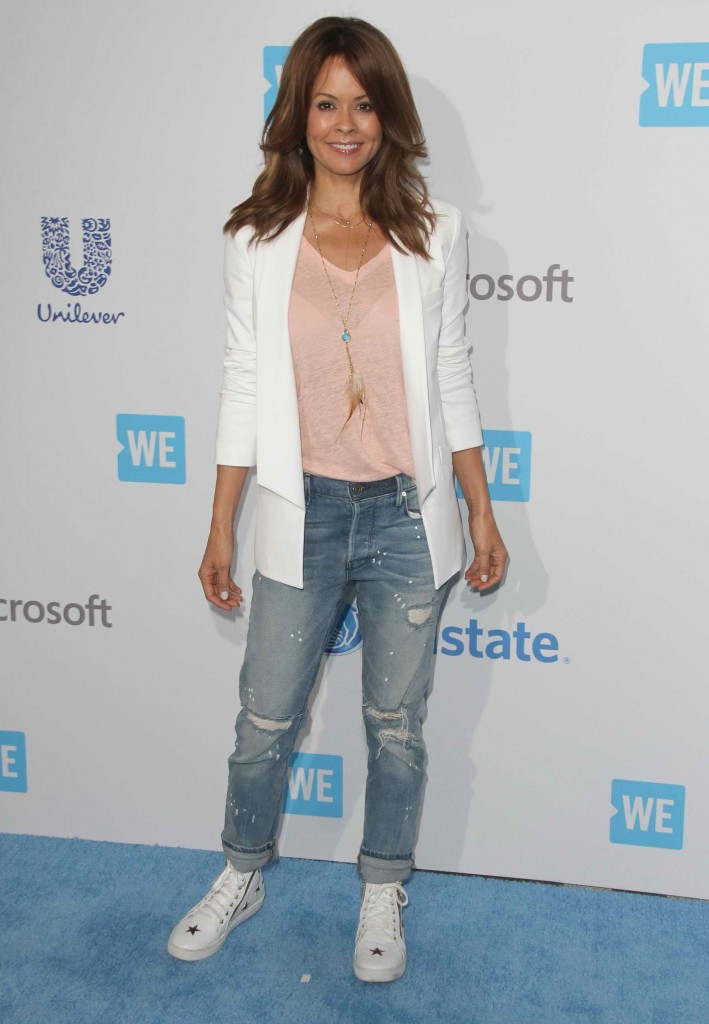 Brooke Burke at WE DAY California in Inglewood-1