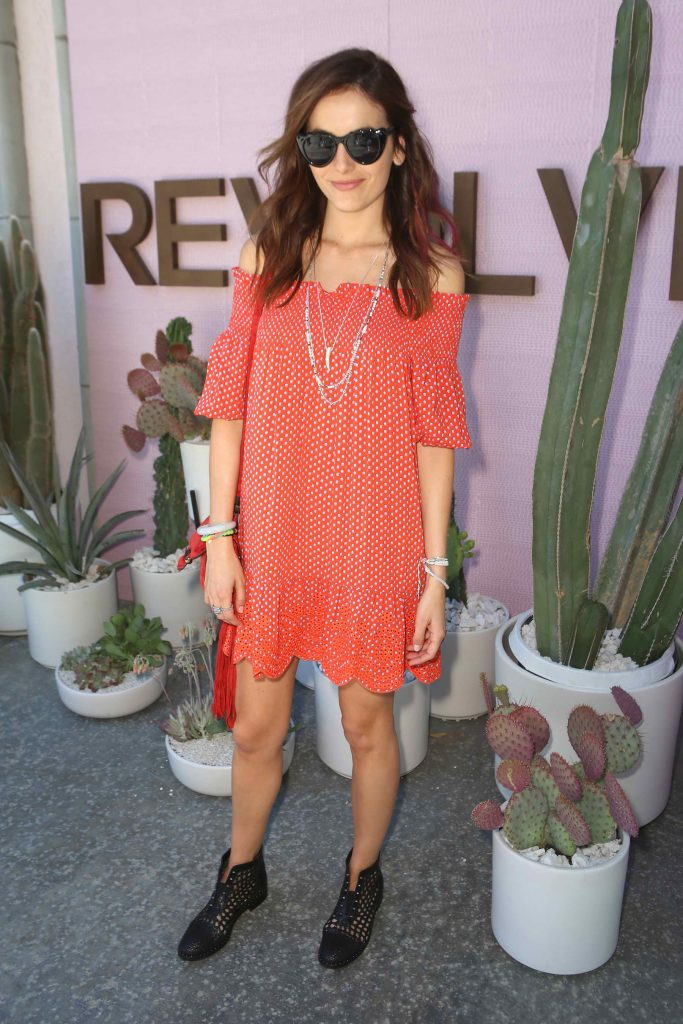 Camilla Belle at the REVOLVE Desert House Day 2 in Thermal-2