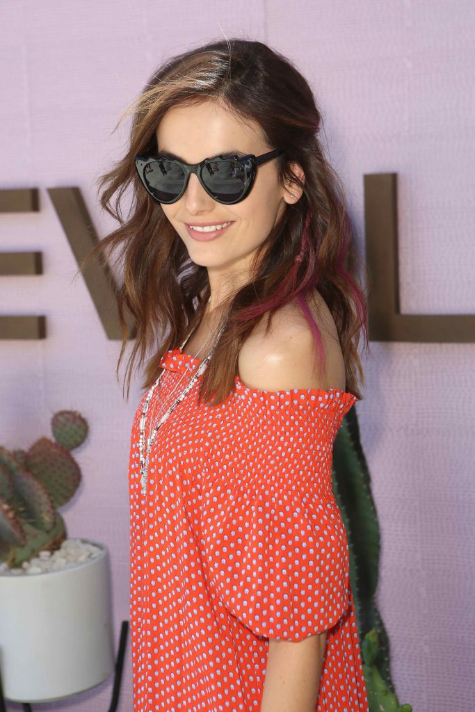 Camilla Belle at the REVOLVE Desert House Day 2 in Thermal-3