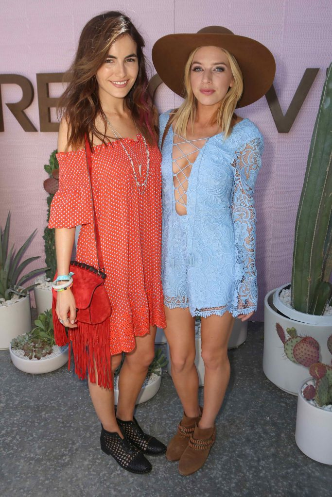 Camilla Belle at the REVOLVE Desert House Day 2 in Thermal-4