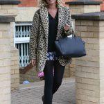 Denise van Outen Leaves Her London Home