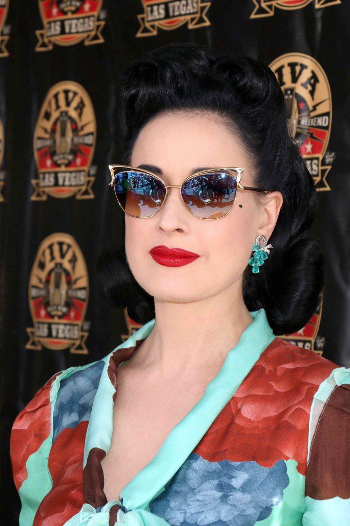 Dita Von Teese at Viva Las Vegas Rockabilly Weekend in Las Vegas-5
