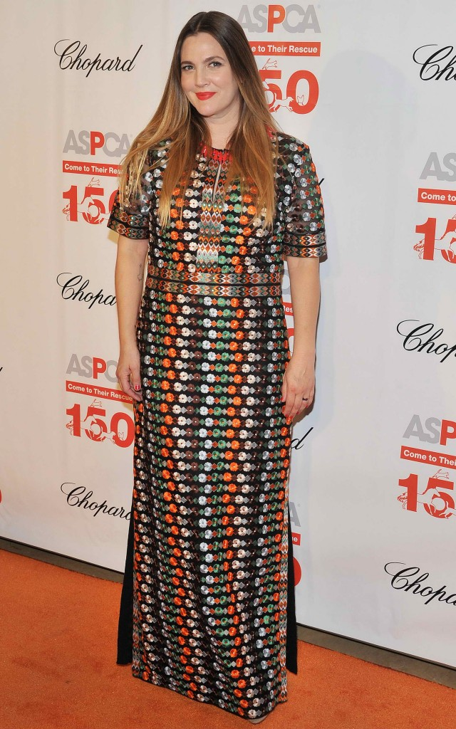 Drew Barrymore at The 19th Annual ASPCA Bergh Ball at The Plaza Hotel in New York-4
