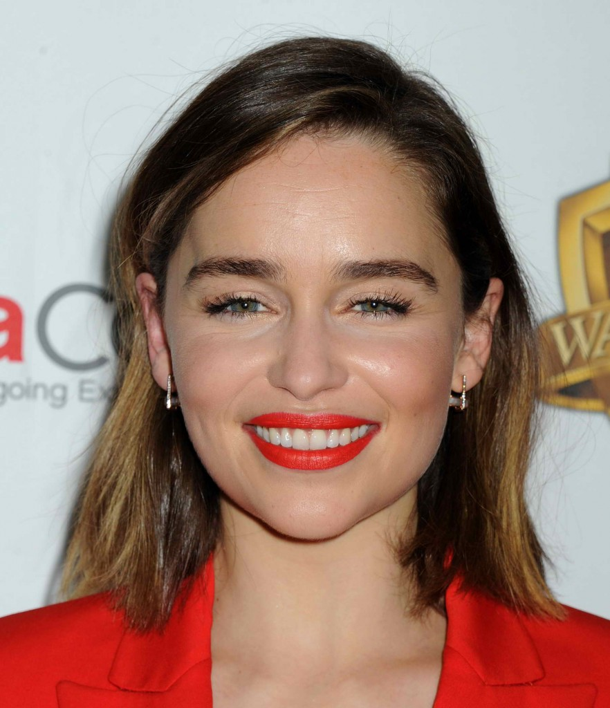 Emilia Clarke at the Warner Bros. Pictures The Big Picture Presentation at CinemaCon in Las Vegas-3