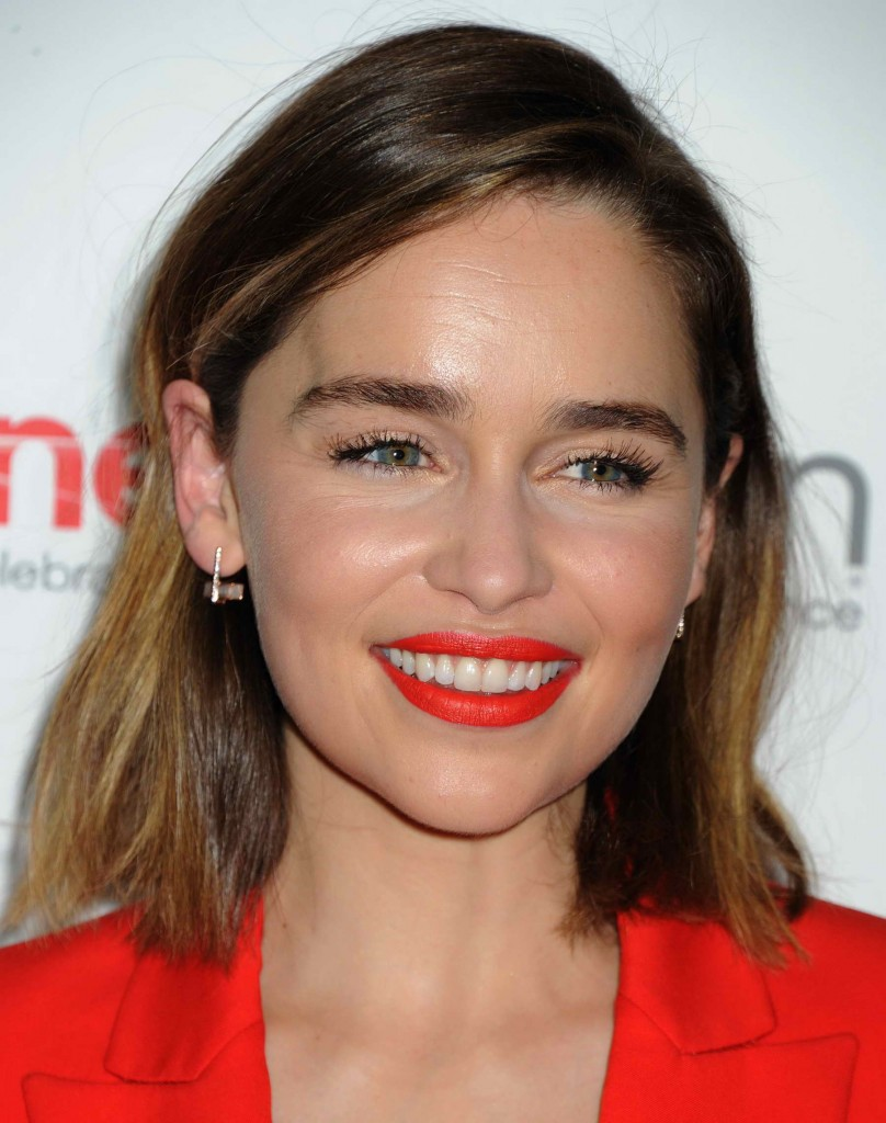 Emilia Clarke at the Warner Bros. Pictures The Big Picture Presentation at CinemaCon in Las Vegas-4
