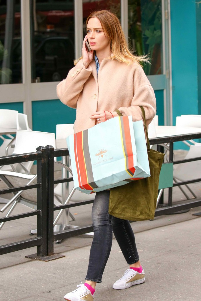 Emily Blunt Was Spotted Out in New York City-2