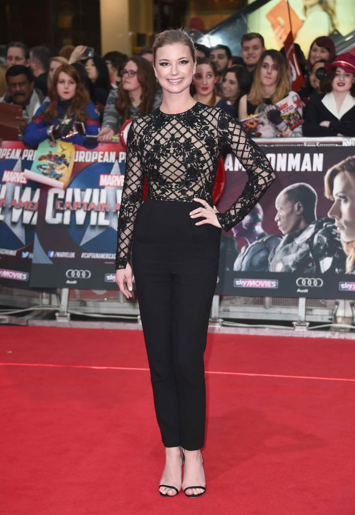 Emily VanCamp at the Captain America: Civil War European Premiere in London-2