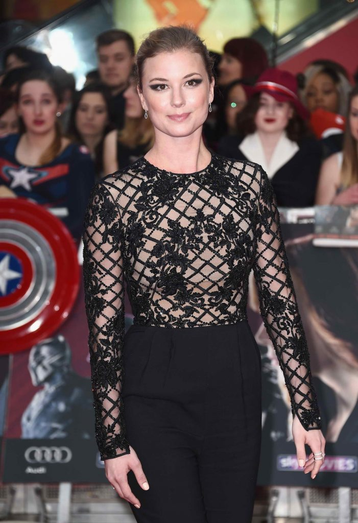 Emily VanCamp at the Captain America: Civil War European Premiere in London-3