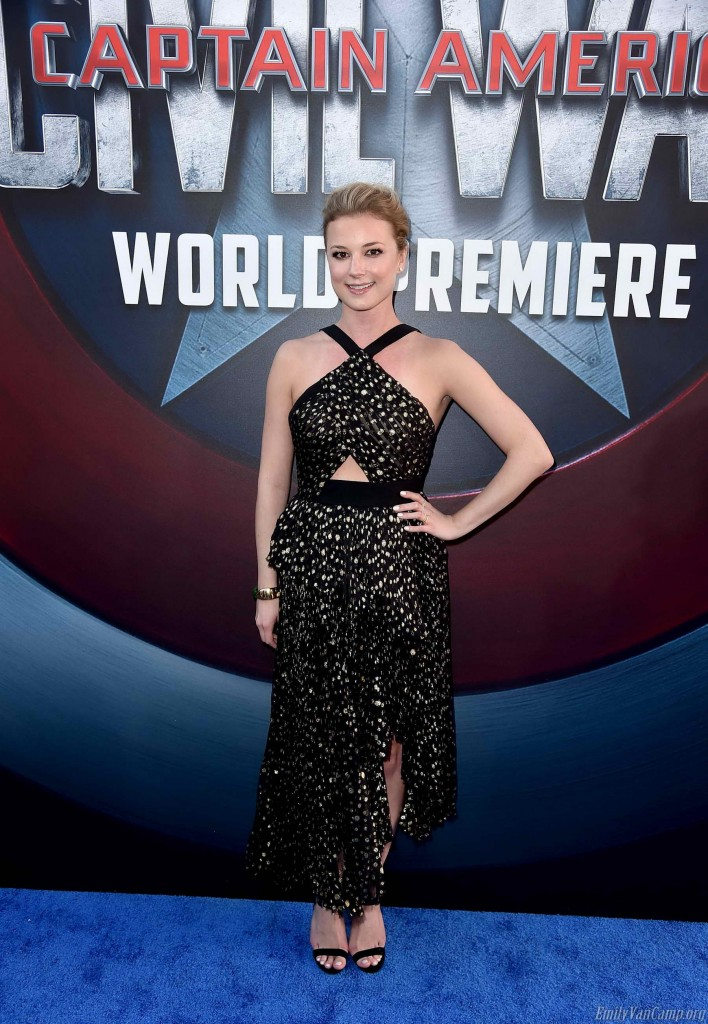 Emily VanCamp at the Captain America: Civil War Premiere in Los Angeles-2