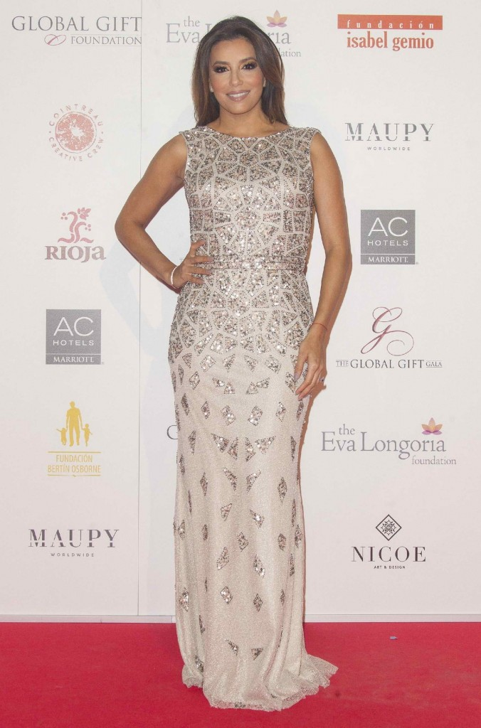 Eva Longoria at Global Gift Gala Photocall in Madrid-1