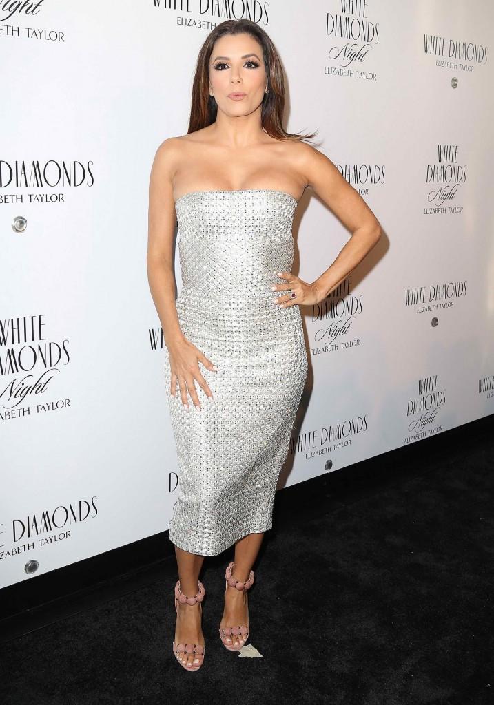 Eva Longoria at White Diamonds 25th Anniversary Celebration in New York-1