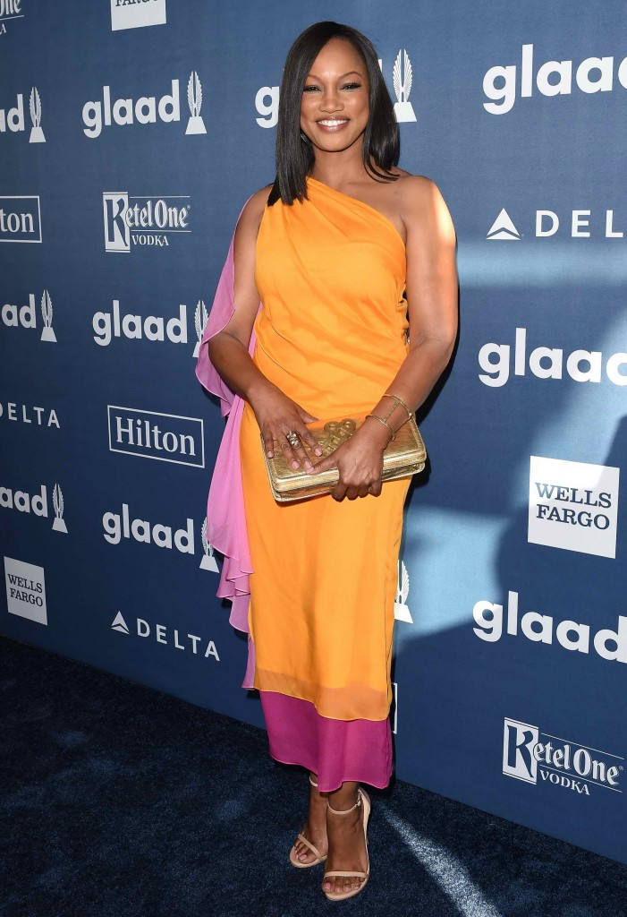 Garcelle Beauvais at 27th Annual GLAAD Media Awards in Beverly Hills-2