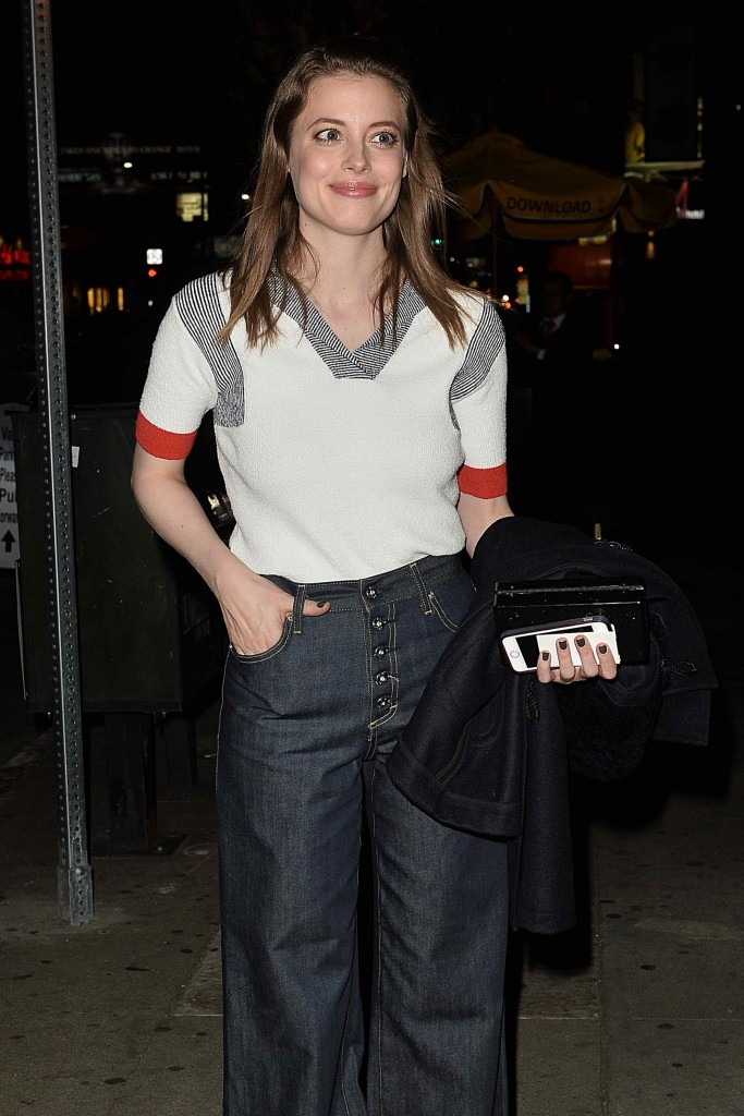 Gillian Jacobs Leaves a Party at El Compadre-2