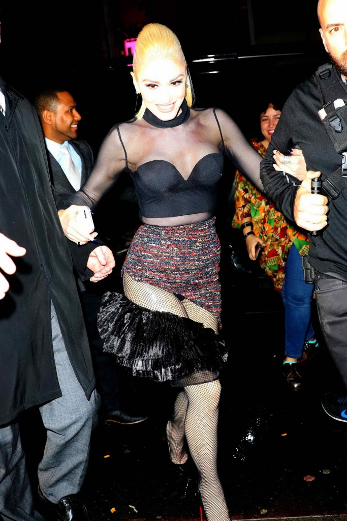 Gwen Stefani at the SNL After Party in NY-1