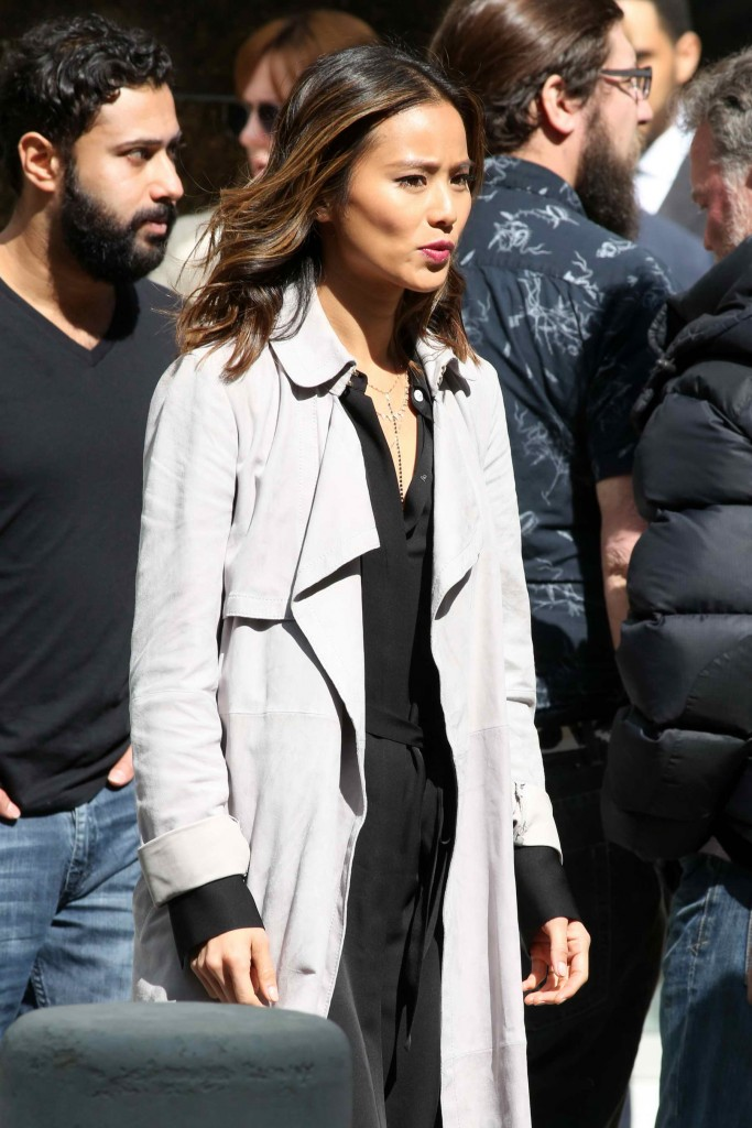 Jamie Chung on Set of Miranda's Rights in Vancouver-4