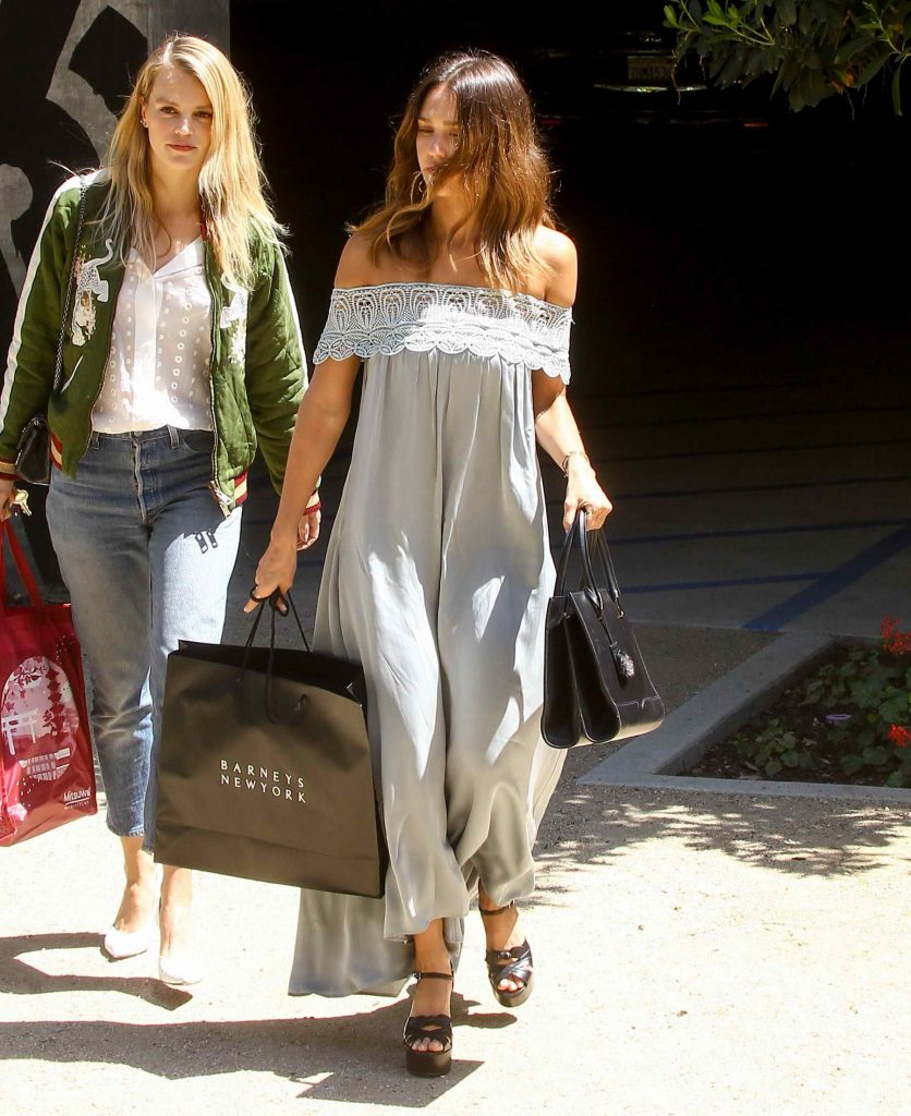 Jessica Alba Out Shopping in LA-1