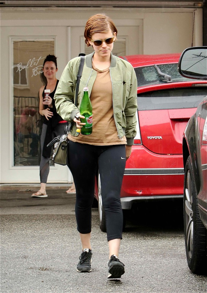 Kate Mara Leaves the Gym in Beverly Hills-1
