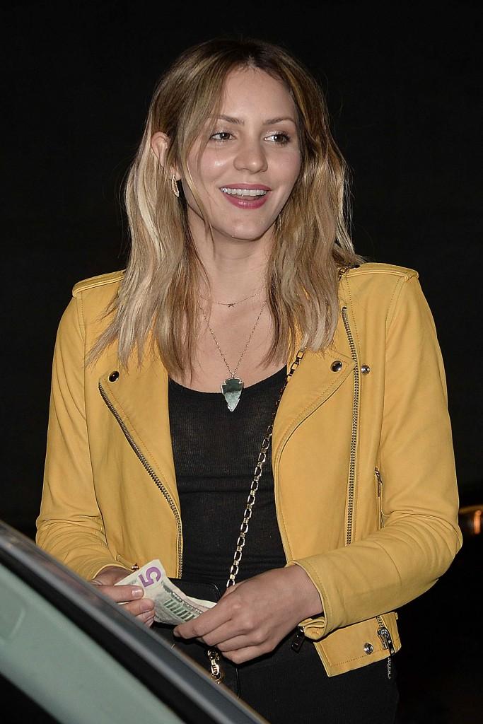 Katharine McPhee Has Dinner at Craigs Restaurant in Los Angeles-1