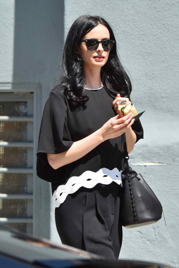 Krysten Ritter Out in Santa Monica-1