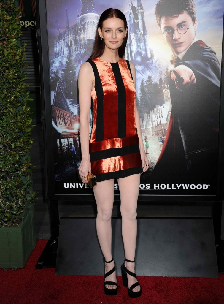 Lydia Hearst at Opening of The Wizarding World Of Harry Potter in Hollywood-2