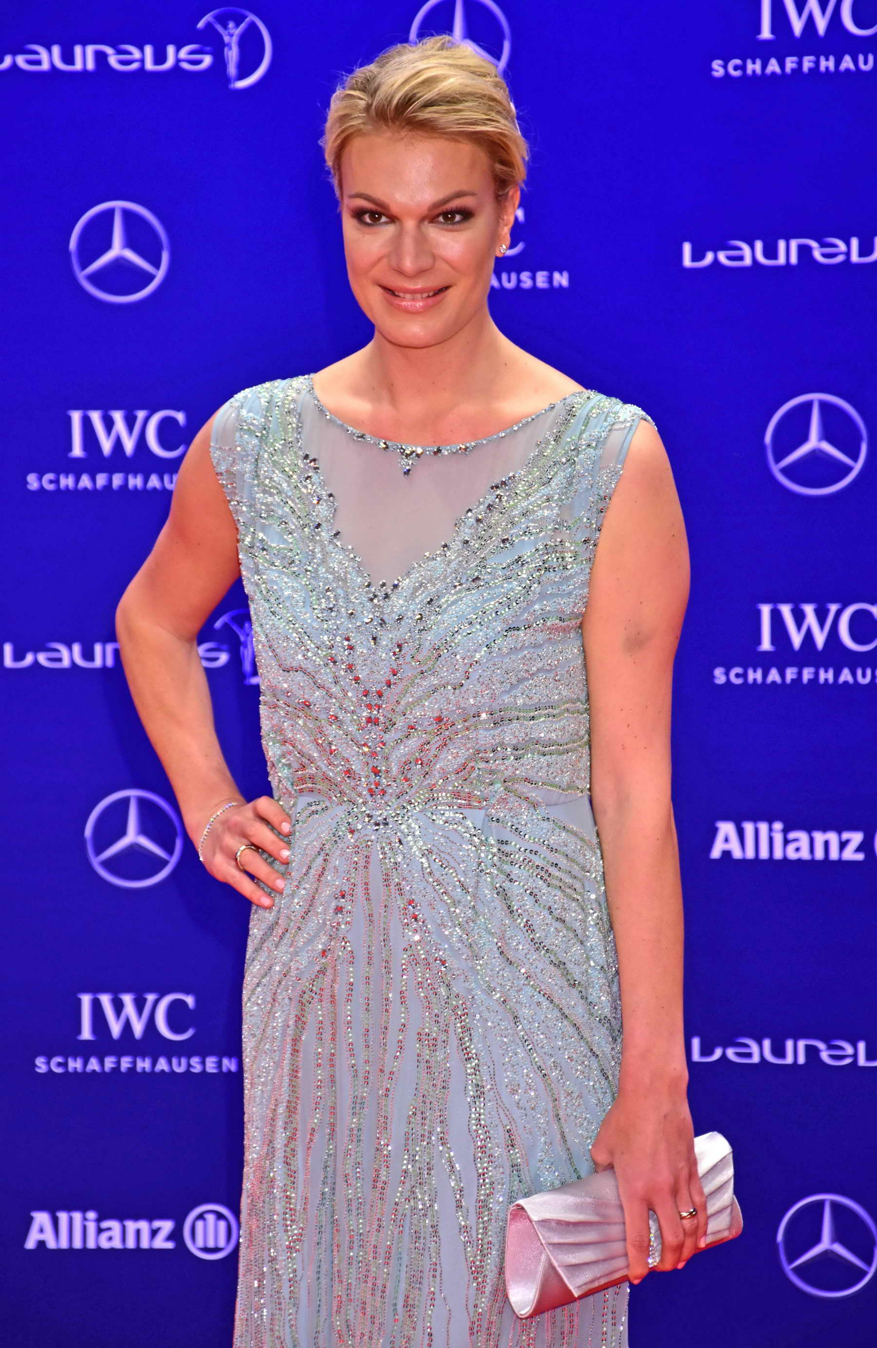maria h fl riesch at the laureus world sports awards at. Black Bedroom Furniture Sets. Home Design Ideas