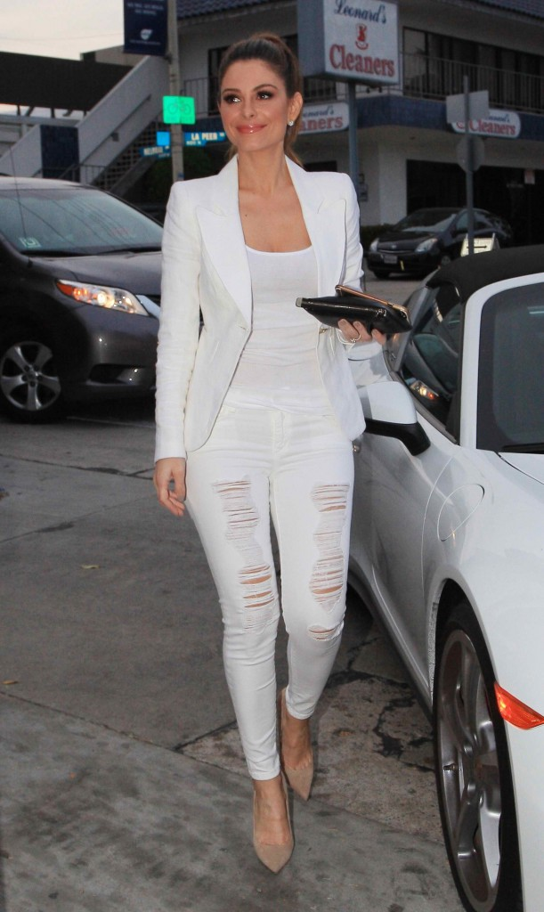 Maria Menounos Visits Craigs Restaurant in West Hollywood-1