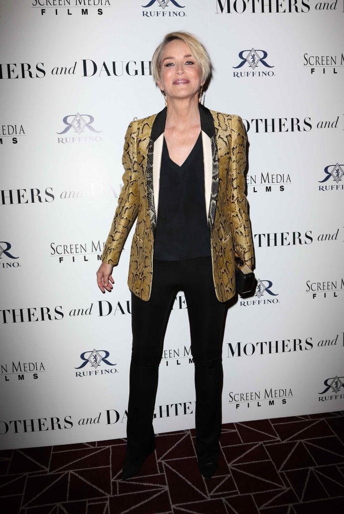Sharon Stone at the Los Angeles Mothers and Daughters Premiere-1