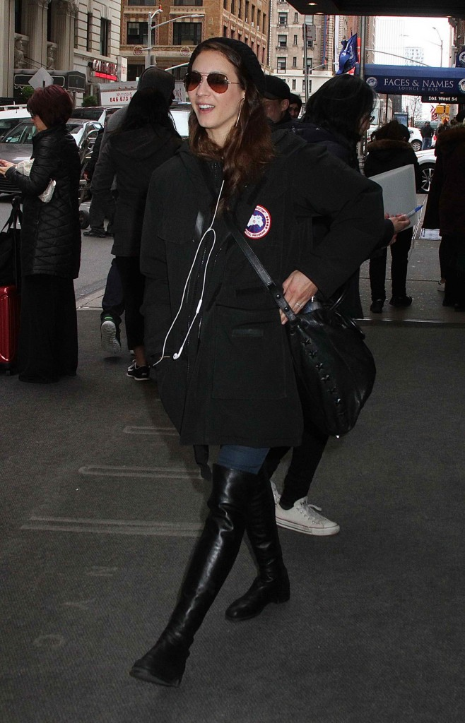 Troian Bellisario Leaves Her Hotel in New York City-2