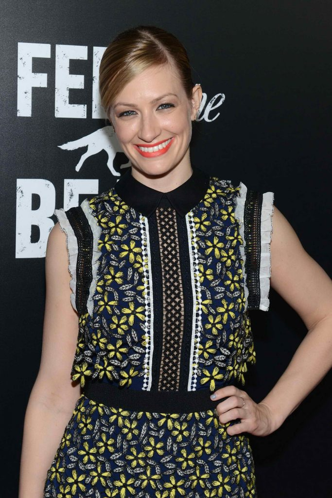 Beth Behrs at the Feed The Beast Premiere Screening in New York-1