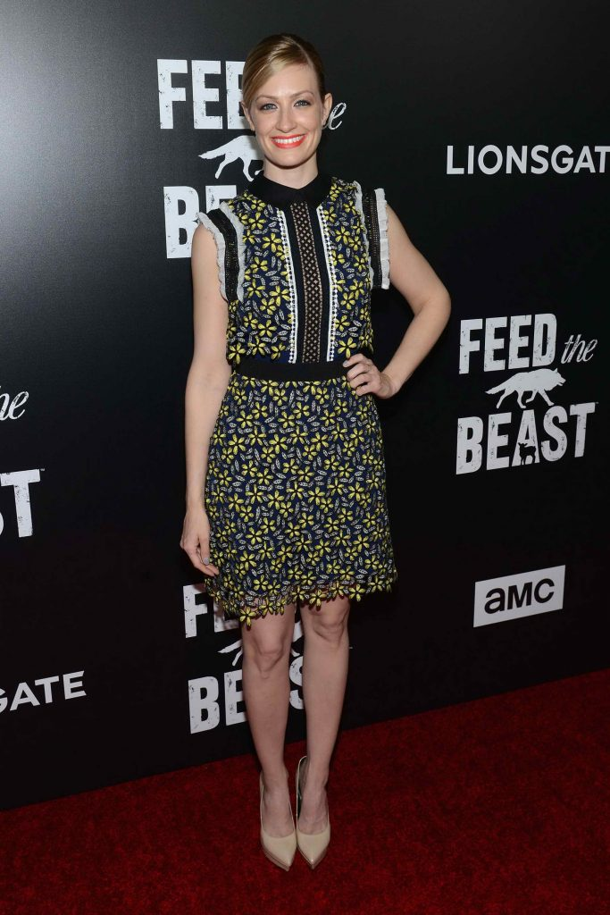 Beth Behrs at the Feed The Beast Premiere Screening in New York-3