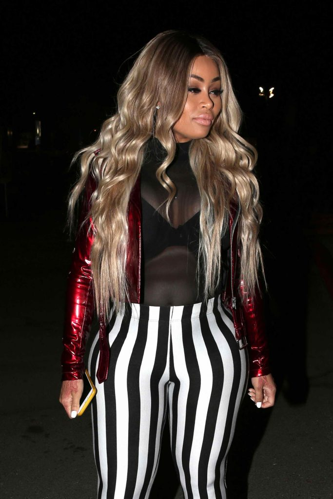 Blac Chyna at Rihanna's Anti World Tour Stop in Inglewood-2