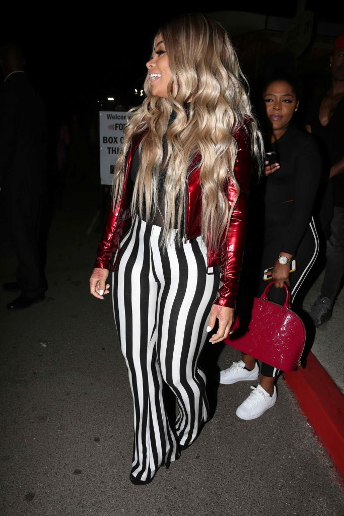 Blac Chyna at Rihanna's Anti World Tour Stop in Inglewood-3