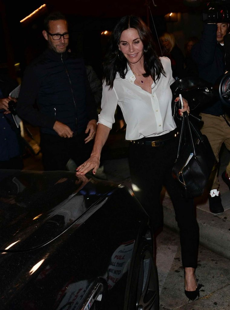 Courteney Cox Attends Rihanna's Concert in Los Angeles-2