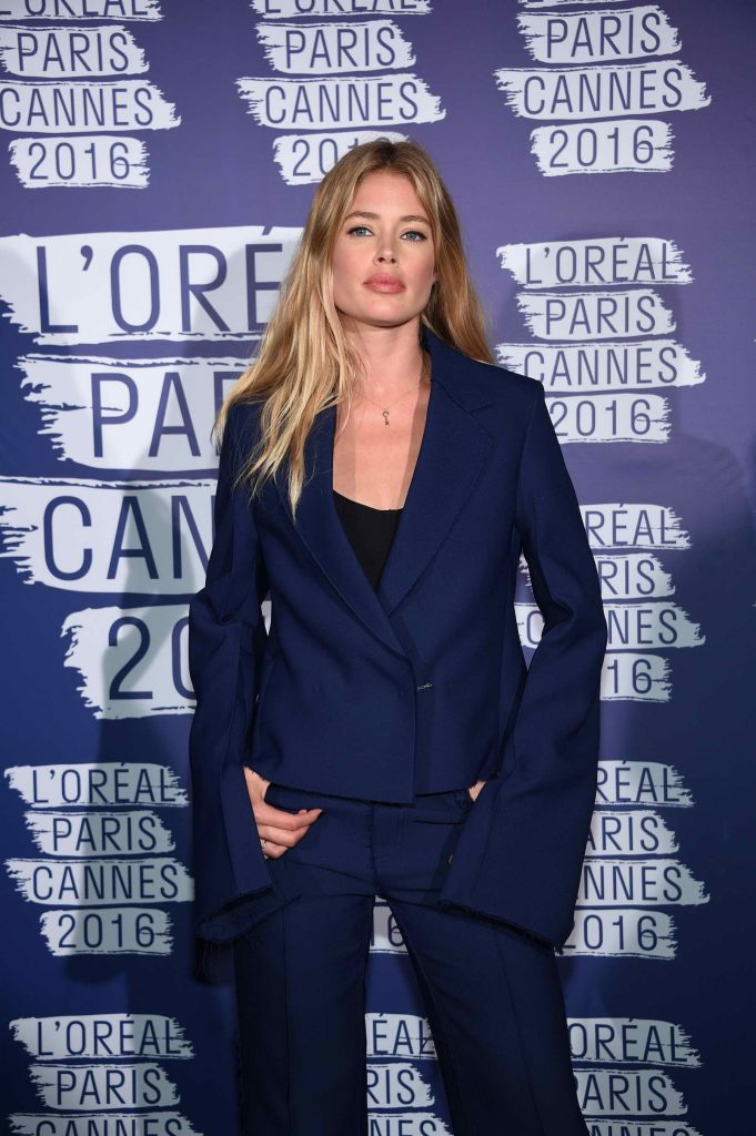 Doutzen Kroes at the L'Oreal Paris Blue Obsession Party in Hotel Martinez-1