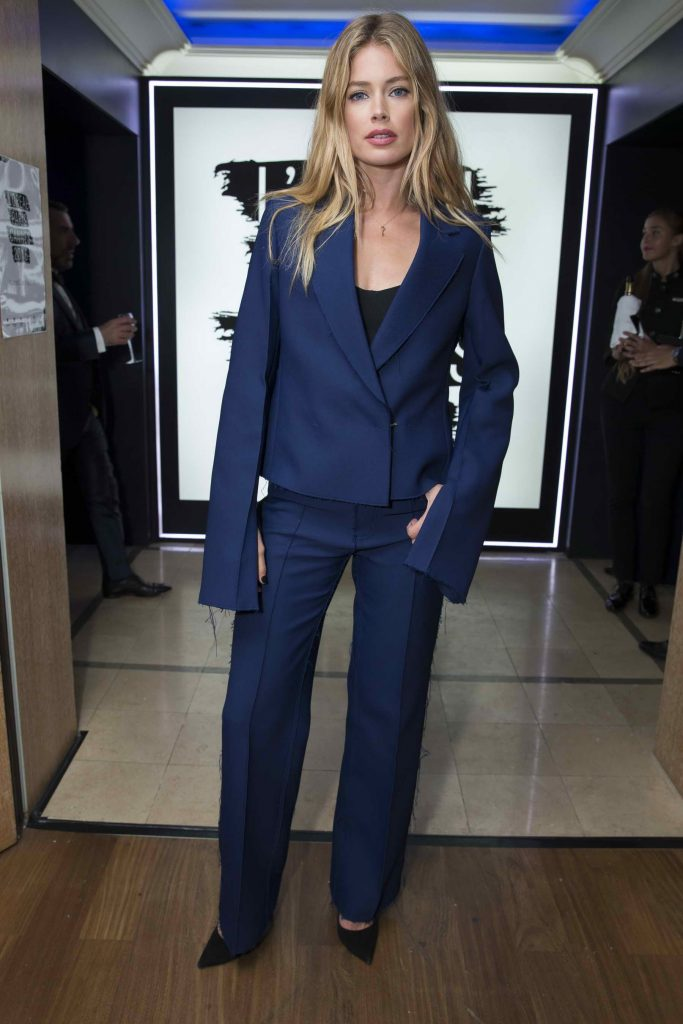 Doutzen Kroes at the L'Oreal Paris Blue Obsession Party in Hotel Martinez-2