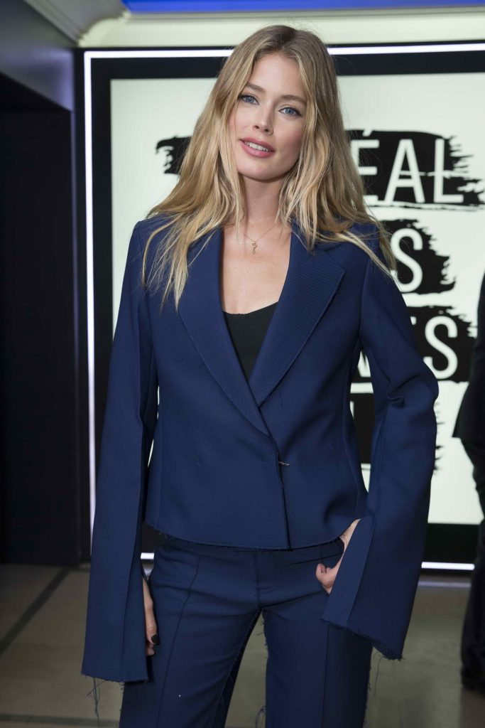 Doutzen Kroes at the L'Oreal Paris Blue Obsession Party in Hotel Martinez-4