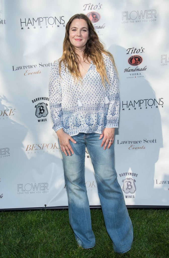 Drew Barrymore Attends Hamptons Magazine Memorial Day Soiree in New York-1