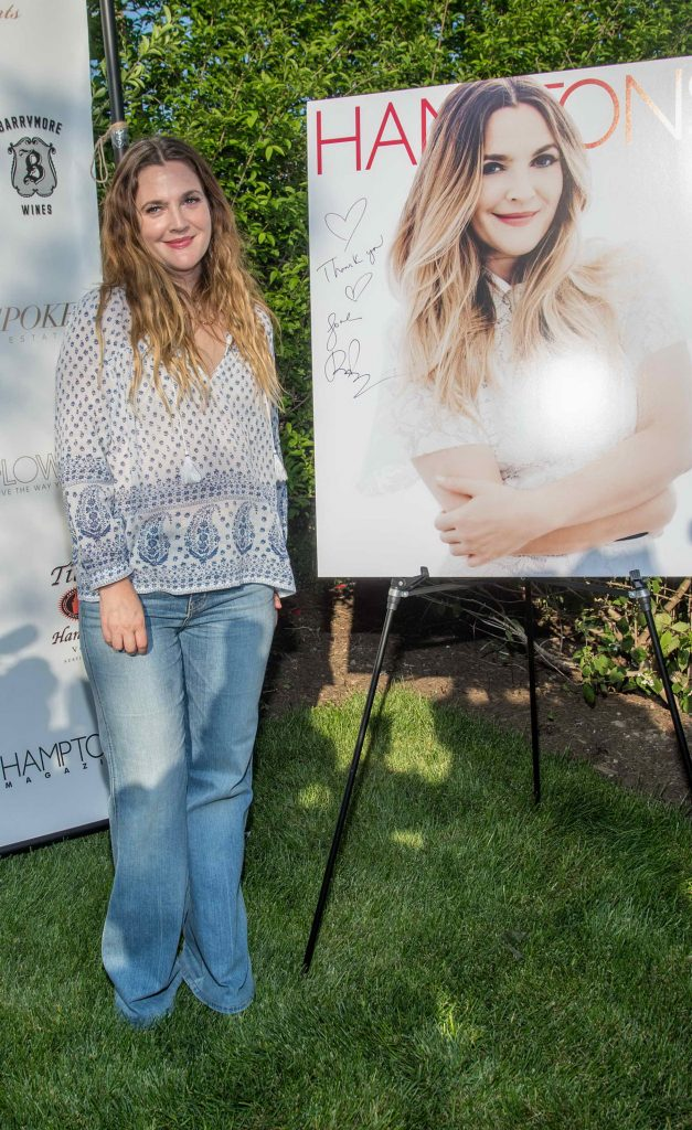 Drew Barrymore Attends Hamptons Magazine Memorial Day Soiree in New York-2