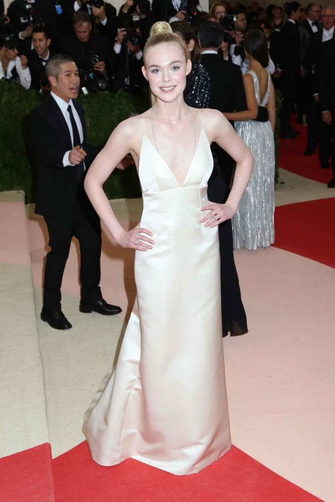 Elle Fanning at the Costume Institute Gala at the Metropolitan Museum of Art in New York City-1
